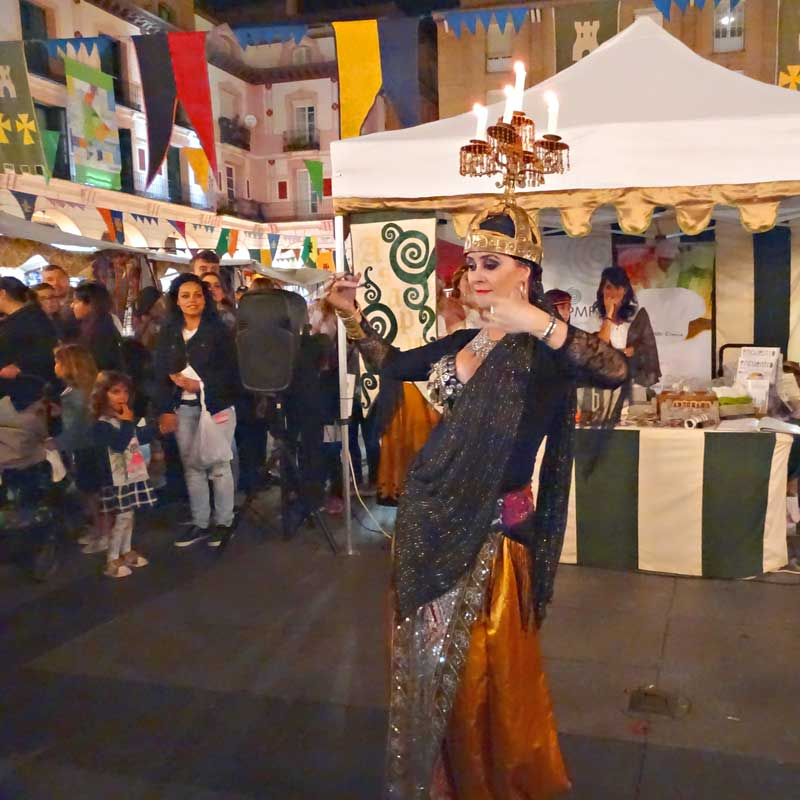 Mercado Medieval - Asapme Huesca - FESMAP 2018